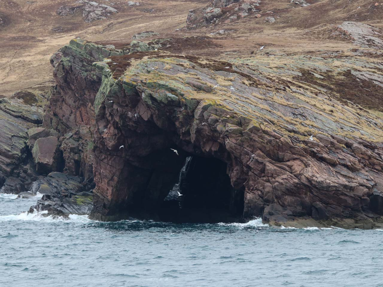 Rugged coastline of the west coast of Scotland